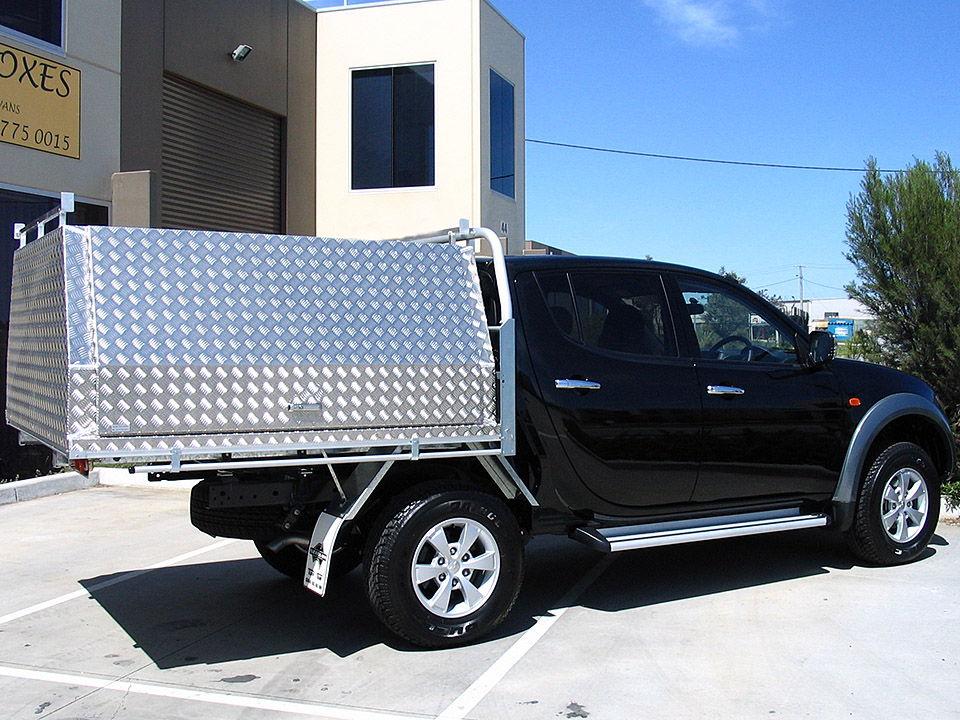 Aluminium Ute Canopy & Aluminium Ute Canopies Melbourne - Aussie Tool Boxes