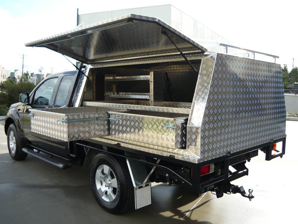 Two door lift off canopy on Nissan Navara with internal drawer set - No.51  sc 1 st  Aussie Tool Boxes & Tool Boxes Melbourne Gallery Page 6 - Aussie Tool Boxes