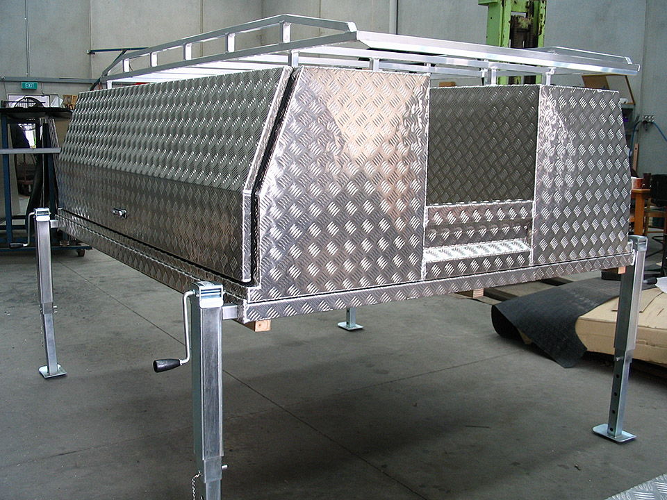 Lift off ute canopy. Lift off tray with tool boxes and roof rack & Lift Off Tray Tool Boxes Melbourne | Aussies Tool Boxes